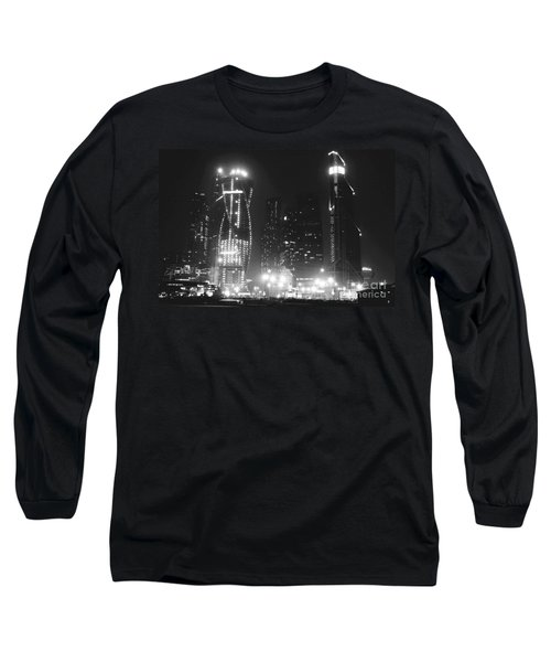 Moscow At Night  Long Sleeve T-Shirt