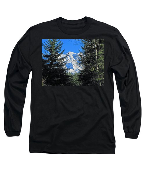 Long Sleeve T-Shirt featuring the photograph Mt. Rainier I by Tikvah's Hope