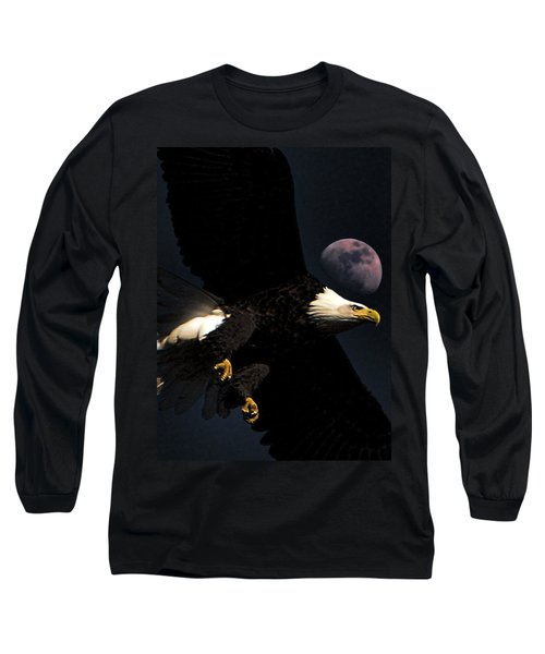 Long Sleeve T-Shirt featuring the photograph Night Moves by John Freidenberg