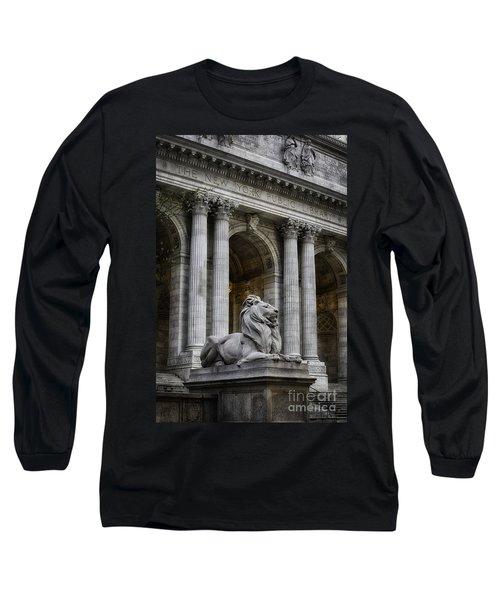 Ny Library Lion Long Sleeve T-Shirt