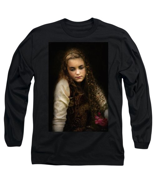 Long Sleeve T-Shirt featuring the photograph Olivia by John Rivera