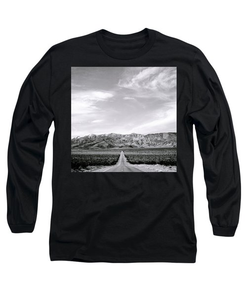 On The Road Long Sleeve T-Shirt by Shaun Higson