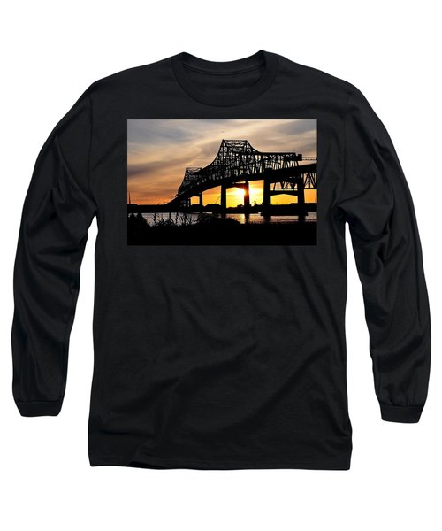 Over The Mississippi Long Sleeve T-Shirt