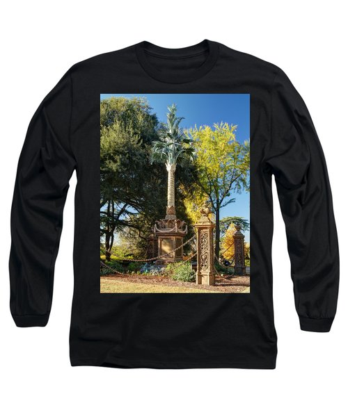 Palmetto Regiment Monument  Long Sleeve T-Shirt by Charles Hite