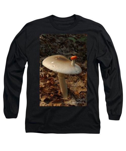 Parasol Mushroom Macrolepiota Sp Long Sleeve T-Shirt