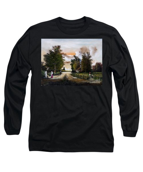 Passing The Time Long Sleeve T-Shirt