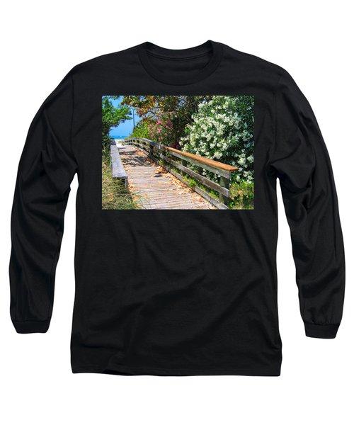Pathway To Beach Long Sleeve T-Shirt