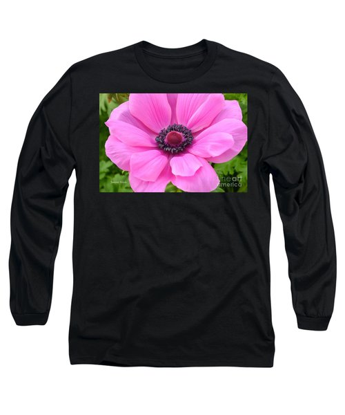 Long Sleeve T-Shirt featuring the photograph Pink Flower by Jeannie Rhode