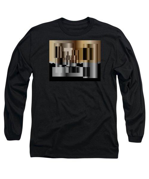 Pipes Long Sleeve T-Shirt by Iris Gelbart