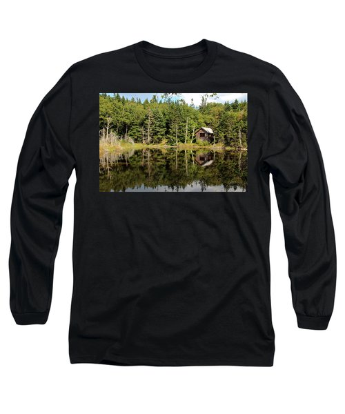 Pond Along The At Long Sleeve T-Shirt