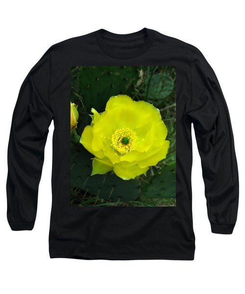 Prickly Pear Cactus Long Sleeve T-Shirt