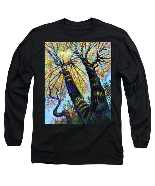 Reaching For The Light Long Sleeve T-Shirt by John Lautermilch