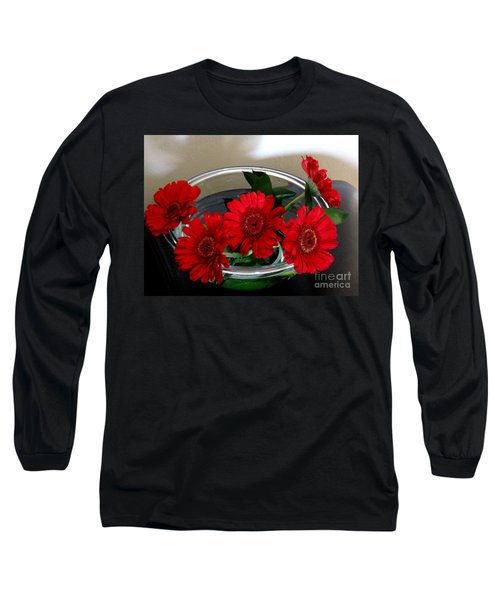 Red Flowers. Special Long Sleeve T-Shirt