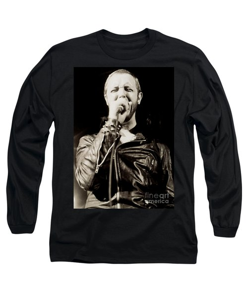 Rob Halford Of Judas Priest At The Warfield Theater During British Steel Tour - Unreleased  Long Sleeve T-Shirt