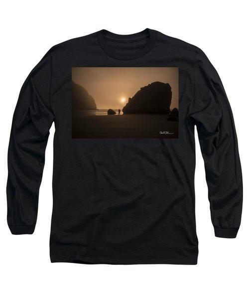 Ruby Beach Sunset Long Sleeve T-Shirt