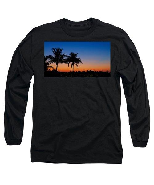 Sanibel Island Florida Sunset Long Sleeve T-Shirt