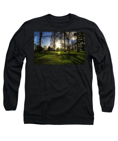 Short Days Long Shadows Long Sleeve T-Shirt