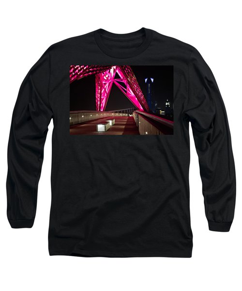 Long Sleeve T-Shirt featuring the photograph Skydance Walkway by Lana Trussell