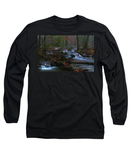 Smoky Mountain Color Long Sleeve T-Shirt by Douglas Stucky