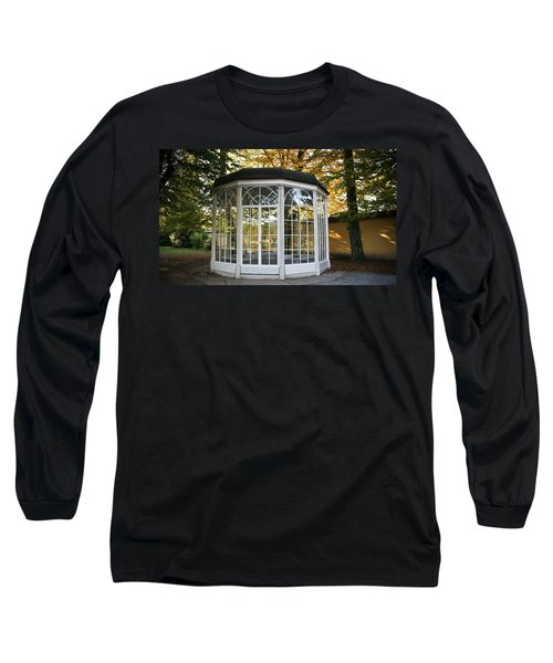 Long Sleeve T-Shirt featuring the photograph Sound Of Music Gazebo by Silvia Bruno