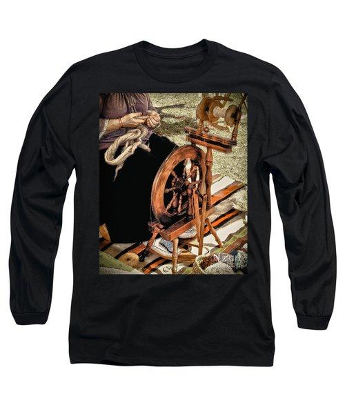 Spinning Wool Long Sleeve T-Shirt