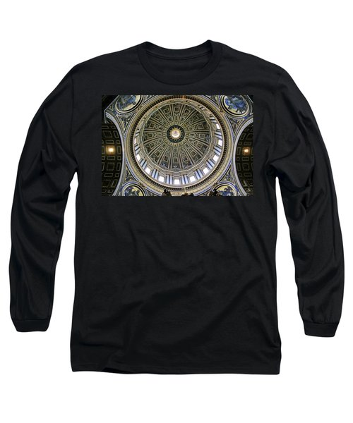 St. Peter's Basilica Dome Long Sleeve T-Shirt