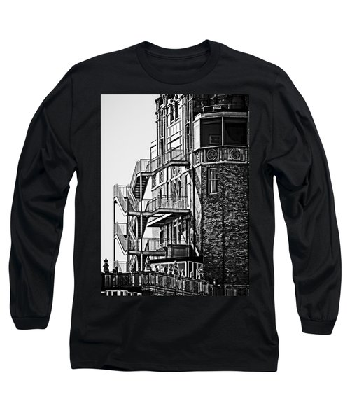 Stairs Long Sleeve T-Shirt by Mark Alder