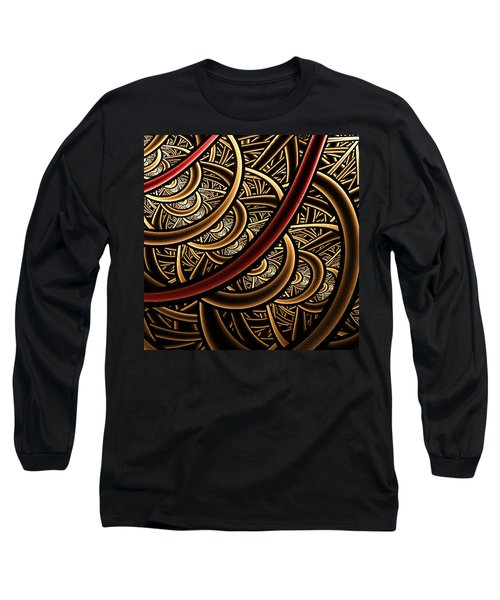 Long Sleeve T-Shirt featuring the digital art Stairways by Ester  Rogers