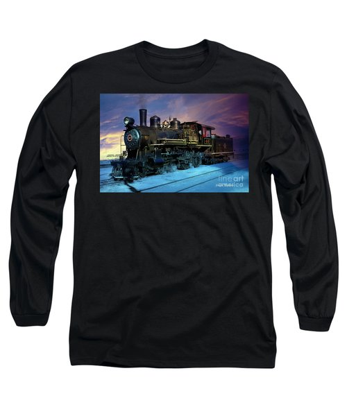 Steam Engine Nevada Northern Long Sleeve T-Shirt