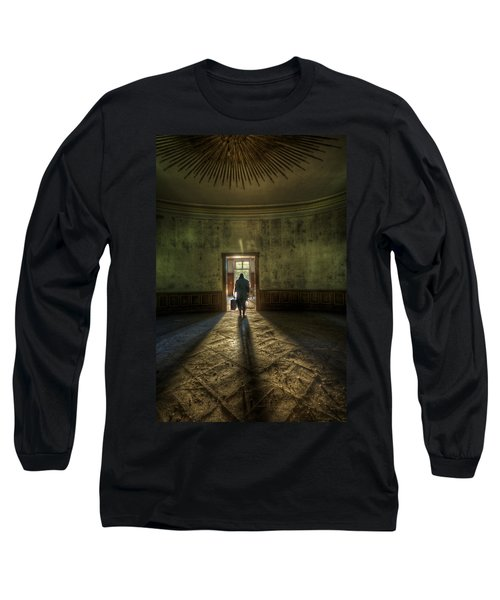 Step Into The Light Long Sleeve T-Shirt by Nathan Wright