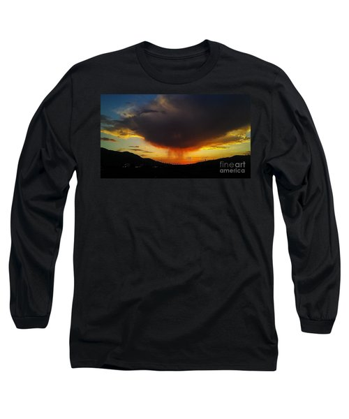 Storms Coming Long Sleeve T-Shirt by Chris Tarpening