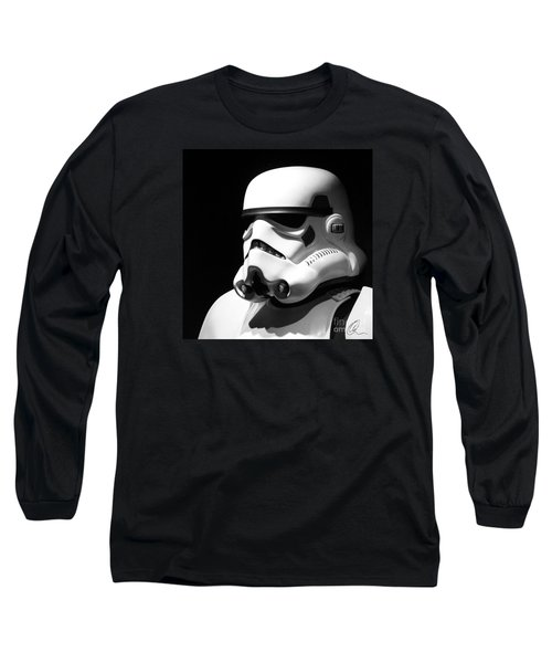 Long Sleeve T-Shirt featuring the photograph Stormtrooper by Chris Thomas