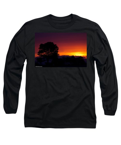 Sunset Long Sleeve T-Shirt by Brian Williamson