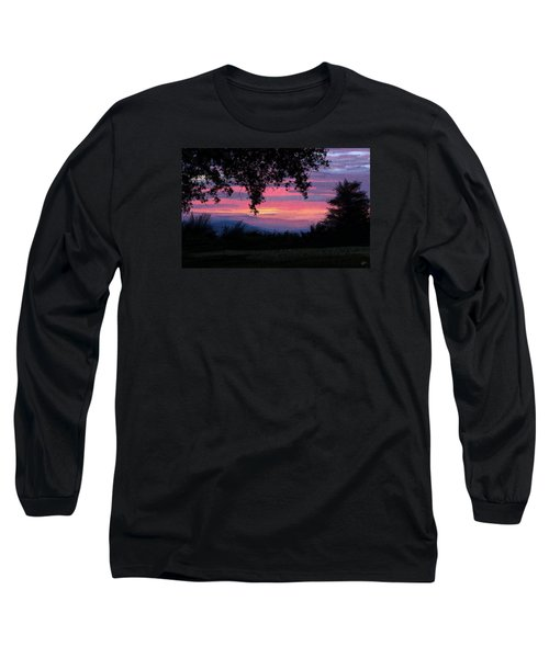 Sunset Long Sleeve T-Shirt by Kate Black