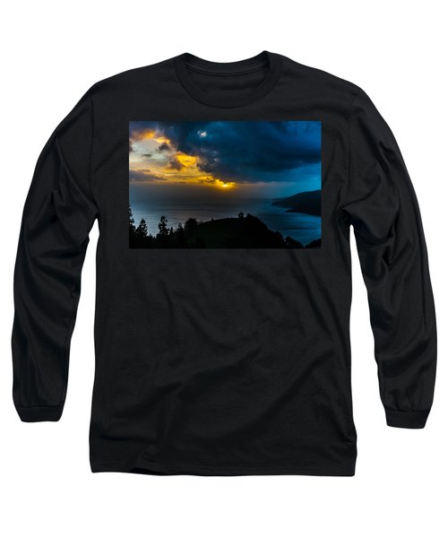 Sunset Over Blue Long Sleeve T-Shirt