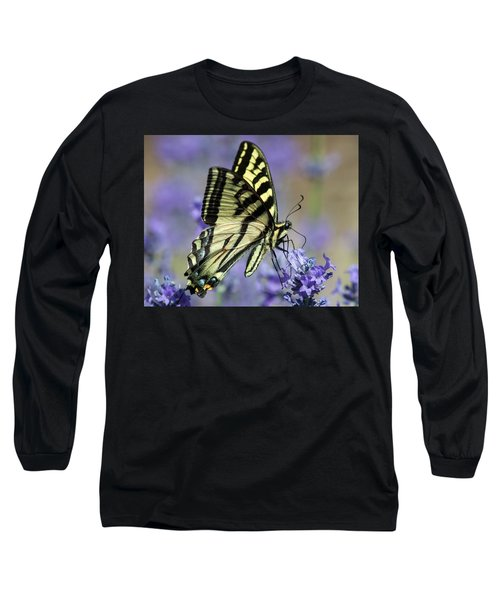 Swallowtail Butterfly Long Sleeve T-Shirt