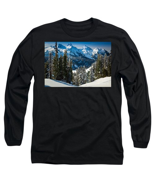 Tatoosh Winter Wonderland Long Sleeve T-Shirt