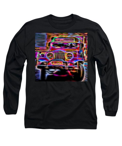 the Jeepney Long Sleeve T-Shirt