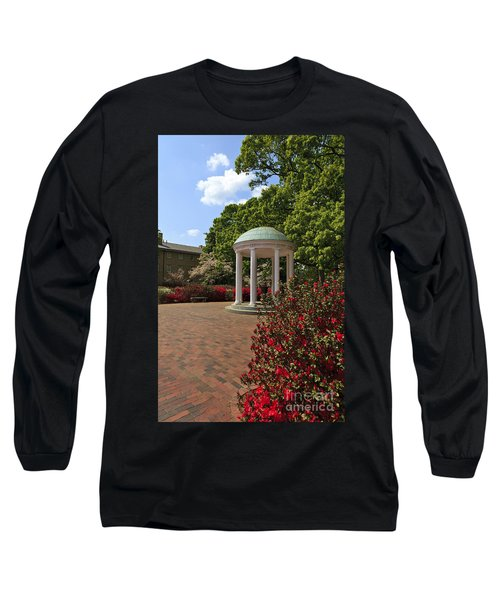 The Old Well At Chapel Hill Long Sleeve T-Shirt