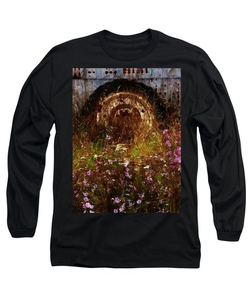 The Spare Wheel  Long Sleeve T-Shirt by Steve Taylor