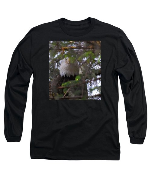 Long Sleeve T-Shirt featuring the photograph The Watcher by Cynthia Lagoudakis