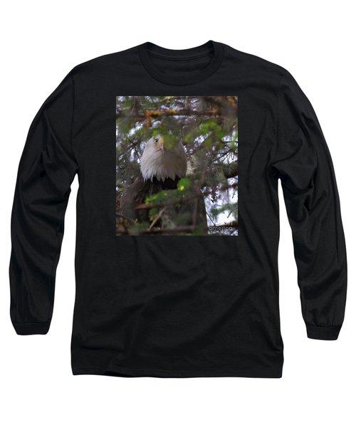 The Watcher Long Sleeve T-Shirt by Cynthia Lagoudakis