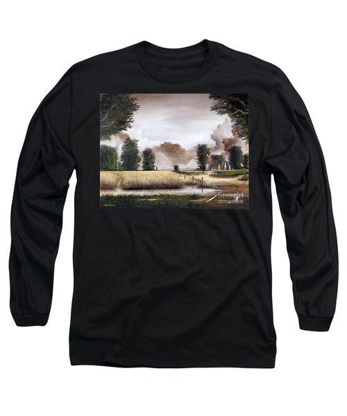 Through The Cornfield Long Sleeve T-Shirt