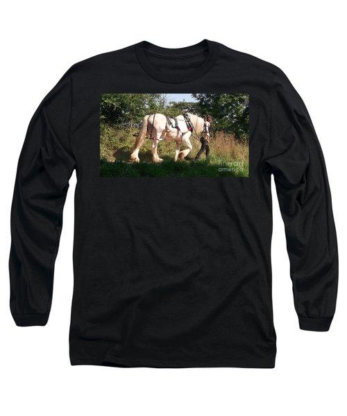 Tiverton Barge Horse Long Sleeve T-Shirt