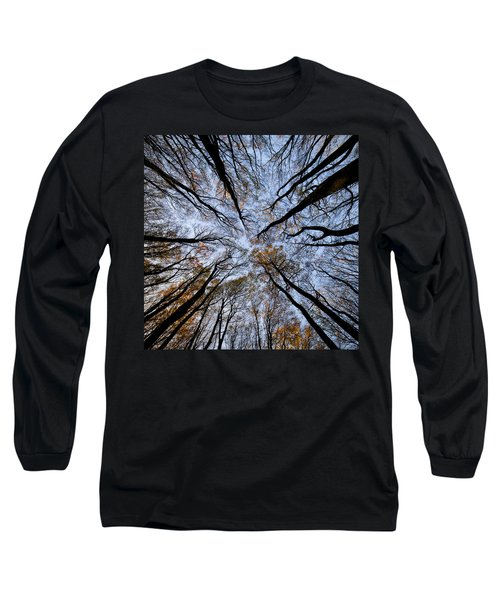 Tall Trees Long Sleeve T-Shirt by Mike Santis