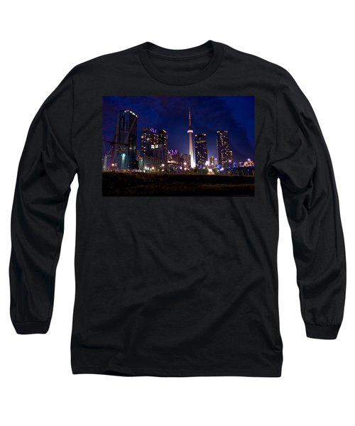 Toronto By Night Long Sleeve T-Shirt