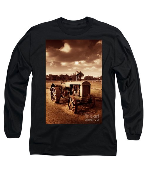 Tractor From Yesteryear Long Sleeve T-Shirt