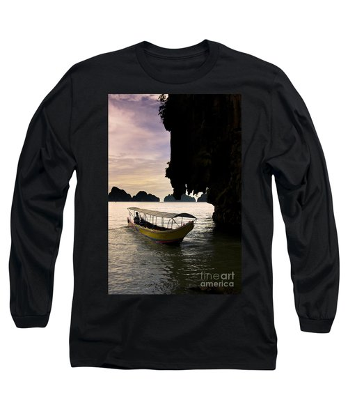 Tropical Holiday In Asia Long Sleeve T-Shirt