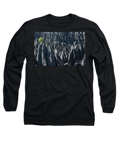 Long Sleeve T-Shirt featuring the photograph Tsingy De Bemaraha Madagascar by Rudi Prott