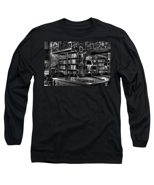 Uris Library Cornell University Long Sleeve T-Shirt